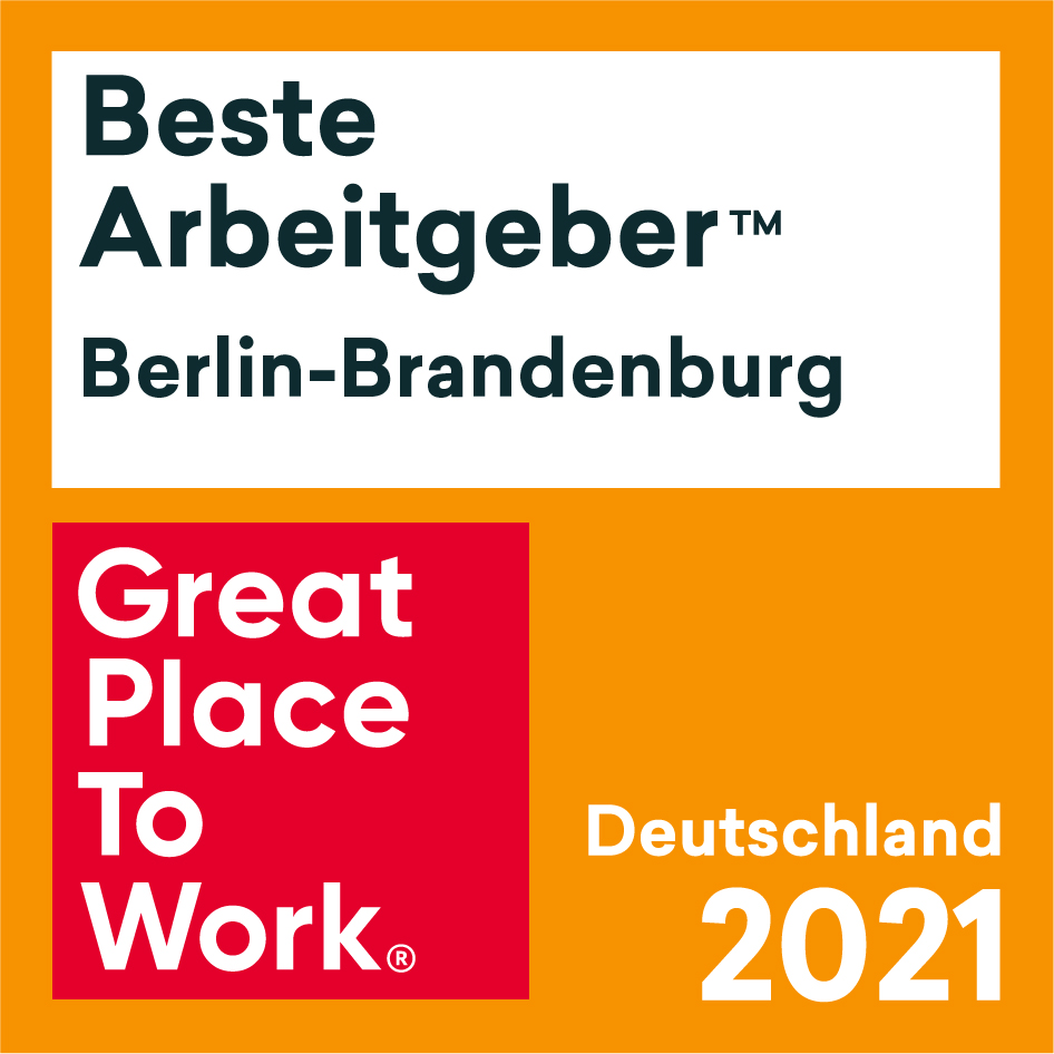 Siegel: Beste Arbeitgeber Berlin-Brandenburg