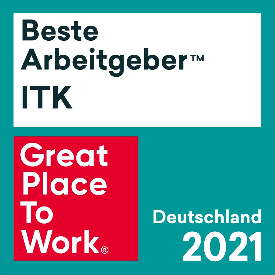 Siegel: Beste Arbeitgeber ITK