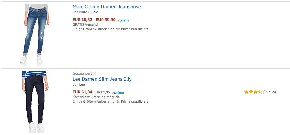 """Sponsored Product von Lee für """"marco polo jeans damen"""""""