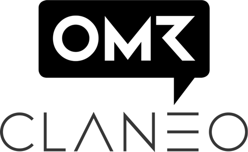 logos of omr and claneo